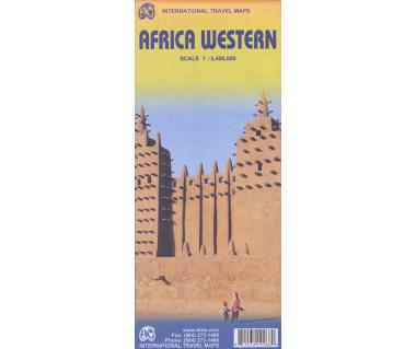 Africa Western - Mapa