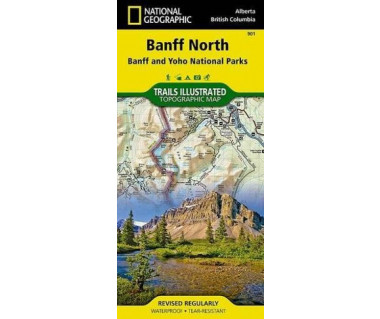 Banff North, Banff and Kootenay National Parks (901)