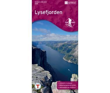 Lysefjorden - Mapa wodoodporna