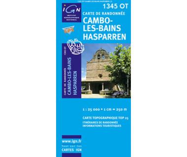 IGN 1345 OT Cambo-les-Bains / Hasparren