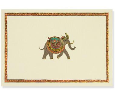 Kartka mini Elephant Festival