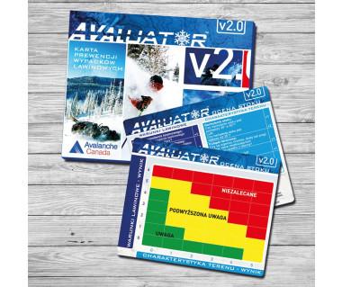 Avaluator 2.0 - karta prewencji wypadków lawinowych