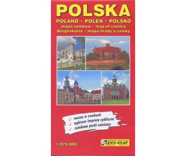 Polska mapa zamków