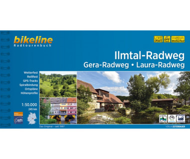 Ilmtal-Radweg • Gera-Radweg • Laura-Radweg