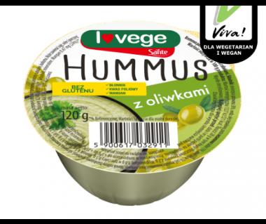 Hummus Sante z oliwkami 120g