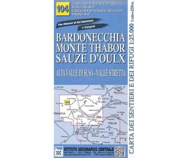 IGC 104 Bardonecchia, Monte Thabor, Sauze d'Oulx