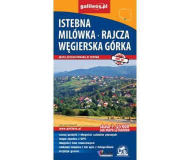 Istebna, Milówka - Rajcza, Węgierska Górka - Mapa