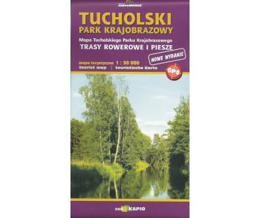 Tucholski Park Krajobrazowy - Mapa