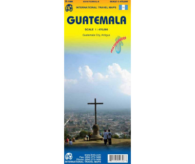 Guatemala - Mapa wodoodporna