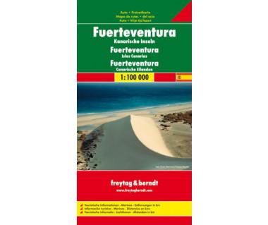 Fuerteventura - Mapa