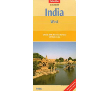 India West - Mapa