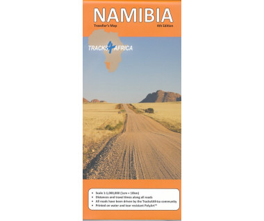 Namibia traveller's map