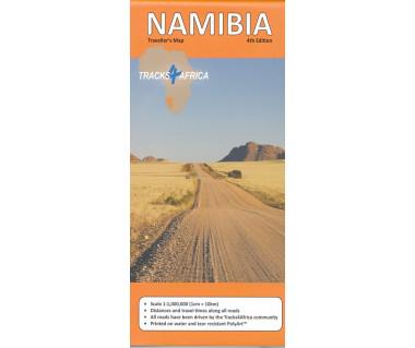 Namibia traveller's map