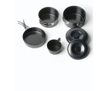 Zestaw naczyń stalowych Non-Stick Cook Kit 1 Person