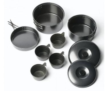 Zestaw naczyń stalowych Non-Stick Cook Kit 4 Person
