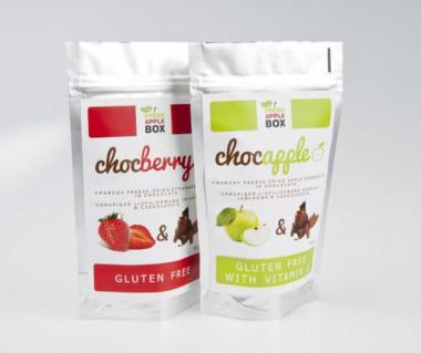Chocapple - liofilizowane jabłka w czekoladzie 40g