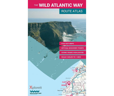 The Wild Atlantic Way route atlas