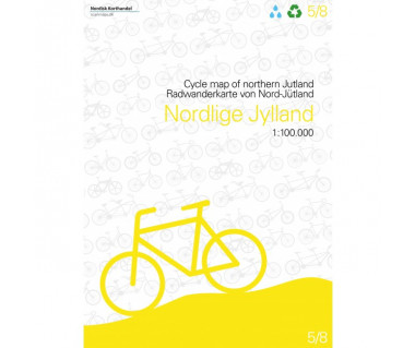 Dania - Northern Jutland cycle map (5)
