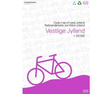 Dania - West Jutland cycle map (6)