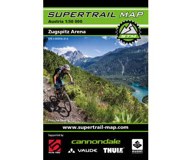 Zugspitz Arena Supertrail Map