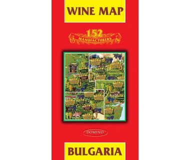 Bulgaria wine map
