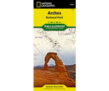 Arches National Park, Utah (211) - Mapa wodoodporna