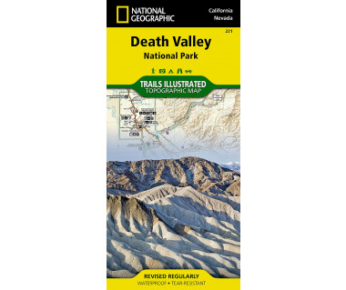 Death Valley NP, California/Nevada (221) - Mapa wodoodporna