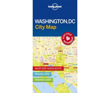 Washington, DC city map