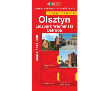 Olsztyn, Lidzbark Warmiński, Ostróda