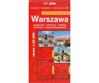 Warszawa, Legionowo, Wołomin, Pruszków, Piastów, Ożarów M.