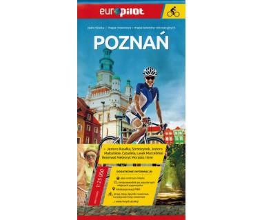 Poznań mapa rowerowa