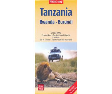 Tanzania, Rwanda, Burundi
