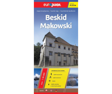 Beskid Makowski mapa laminowana