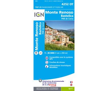 IGN 4252OT Monte Renoso, Bastelica