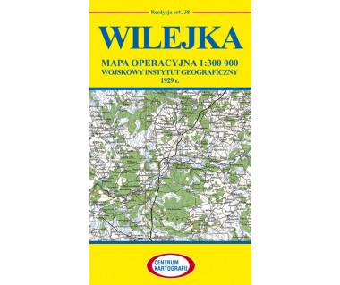 Wilejka mapa operacyjna ark. 38 reedycja WIG 1929r.