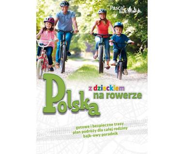 Polska z dzieckiem na rowerze
