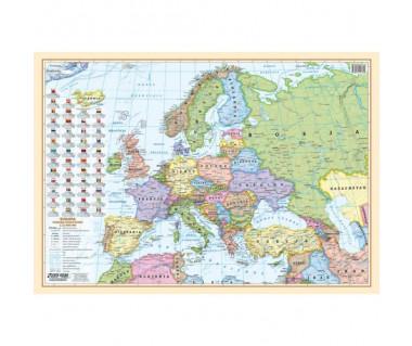 Europa fizyczna i polityczna podkładka