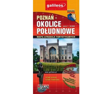 Poznań - okolice południowe - Mapa