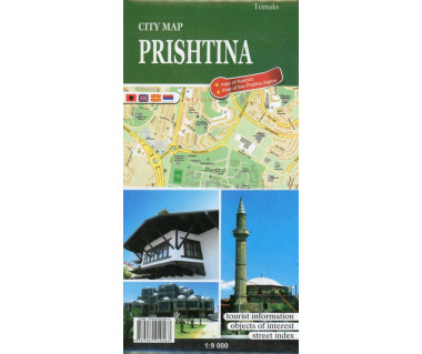 Prishtina city map