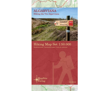 Algarviana hiking map