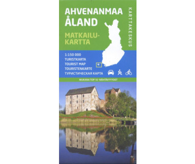 Aland tourist map