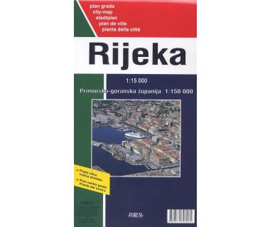 Rijeka city map