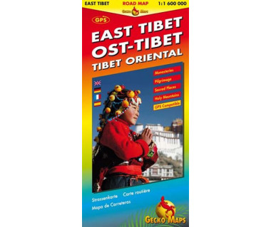 East Tibet road map