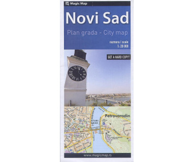 Novi Sad city plan
