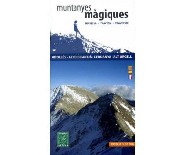 Ripolles, Alt Bergueda, Cerdanya, Alt Urgell - Mapa turystyczna