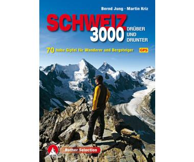 Dreitausender Schweiz – druber und drunter