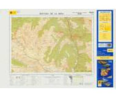 Vall de Boi - Mapa turystyczna