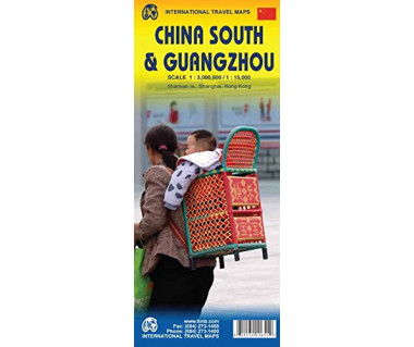 China South & Guangzhou - Mapa