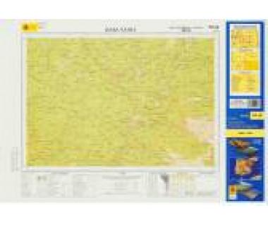 Bukk - Mapa turystyczna