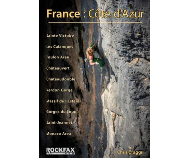 France: Cote d'Azur climbing guide